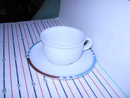 DANSK MESA WHITE SAND  JAPAN  CUP AND SAUCER - $3.81