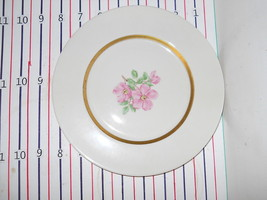 FRANCISCAN CHEROKEE ROSE WIDE BAND SALAD  PLATE - $6.68