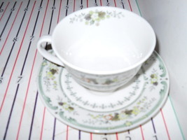 ROYAL DOULTON PROVENCAL CUP AND SAUCER SET - $7.81