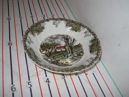 Johnson Brothers Bros Friendly Village Fruit Bowl Wall England - $4.90