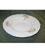 ROSENTHAL CLASSIC ROSE FORTUNE RIMMED SOUP BOWL - $11.83