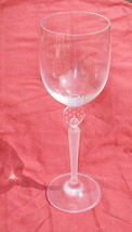 "MIKASA MOONLIGHT FROST 10 3/4"" FLUTED CHAMPAGNE GOBLET - $9.89"