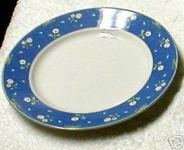 MIKASA GARDEN CHINTZ SKY DINNER PLATE - $10.64