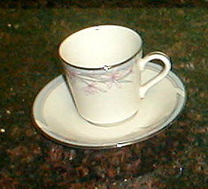 AMERICAN ROYALTY FIRST LADY DEMITASSE CUP AND SAUCER - $8.90