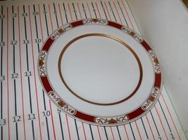 Fitz & Floyd Fleur Orinentale Rust Red Cinnabar Dinner Plate - $21.76
