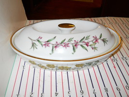 "Spode Stafford Flower's 10 1/2"" Entree Dish - $42.52"