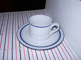 Dansk Christianshavn Blue Portugal Cup And Saucer - $5.89