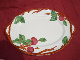 "FRANCISCAN APPLE 14 1/4"" SERVING PLATTER ENGLAND - $21.77"