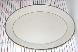 "LENOX RAPTURE 13 3/4""  OVAL SERVING PLATTER - $80.18"