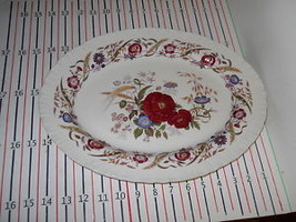 WEDGWOOD CORNFLOWER OVAL SERVING  PLATTER  EX COND - $48.46