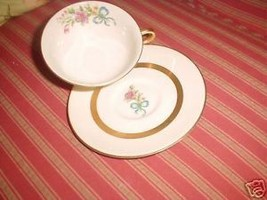 HAVILAND KENMORE CUP AND SAUCER SET - $12.82