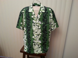 Royal Creations of Hawaii - Floral Lei Patterned Shirt - Men XL - Very S... - $49.00