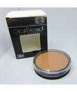 MEHRON STAR BLEND Cake Makeup Pressed Powder 6.5B Medium Male 2.0oz/56g NIB - $11.83