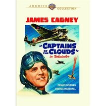 Captains of the Clouds [DVD] (2014) Cagney, James; Morgan, Dennis; Marsh... - $14.59