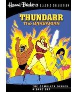 Thundarr The Barbarian (4 Disc) [DVD] (2010) Bob Ridgely; Henry Cordon; ... - $28.86