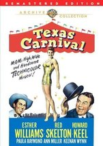 Texas Carnival [DVD] (2011) Esther Williams; Red Skelton; Howard Keel; A... - $14.59