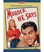 Murder, He Says [DVD] (2011) Fred MacMurray; Marjorie Main; Helen Walker... - $14.66