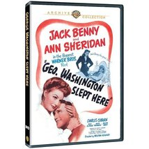 George Washington Slept Here [DVD] (2013) Jack Benny; Ann Sheridan; Char... - $18.41