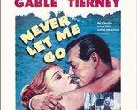 Never Let Me Go [DVD] (2013) Clark Gable; Gene Tierney; Delmer Daves