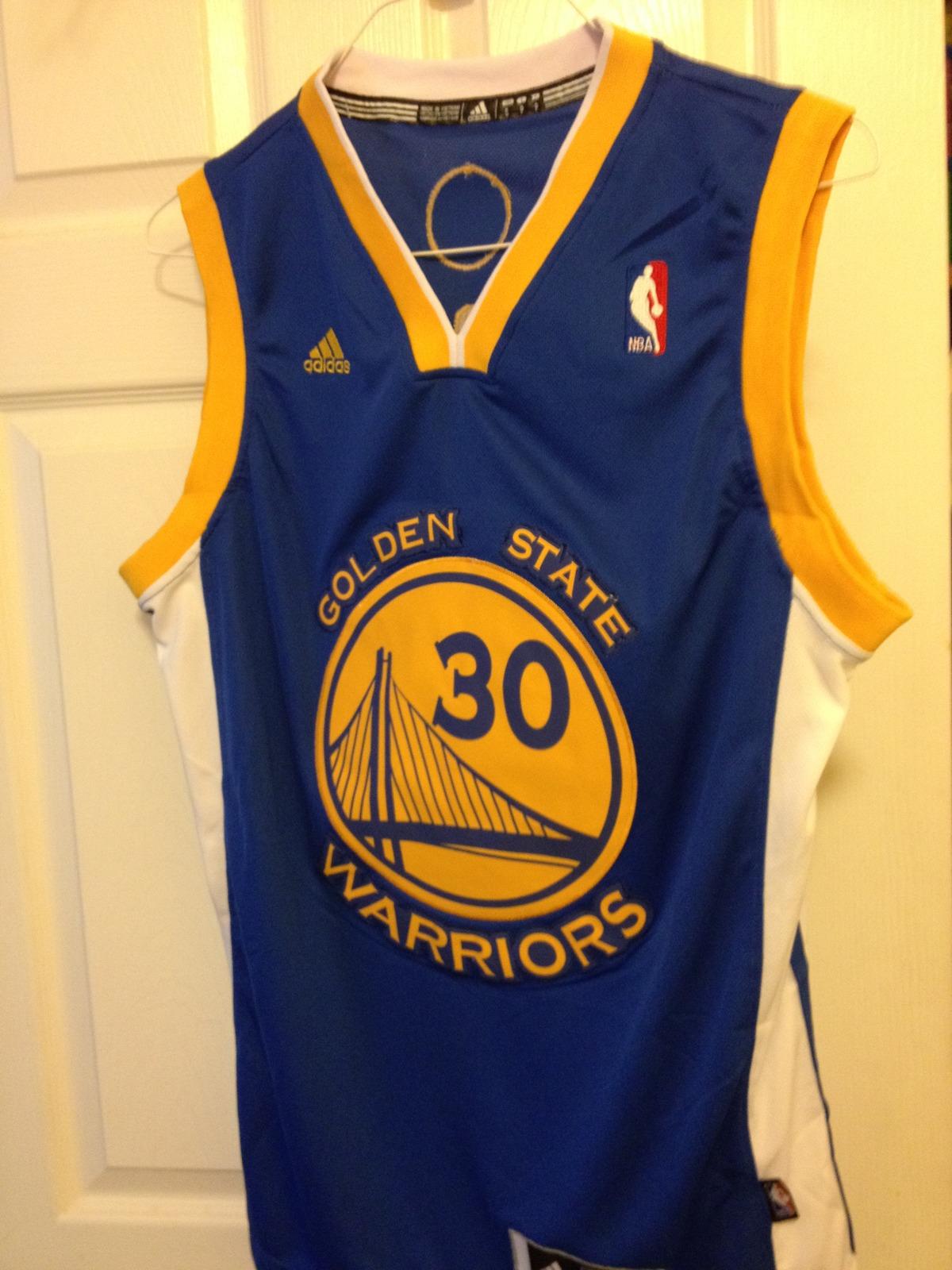 Stephen Curry Blue Adidas Swingman Jersey