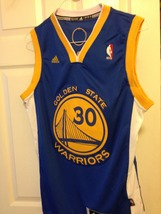 Stephen Curry Blue Adidas Swingman Jersey image 1