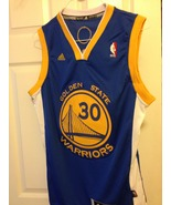 Stephen Curry Blue Adidas Swingman Jersey - $59.00