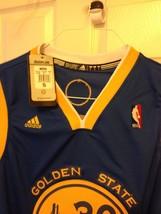 Stephen Curry Blue Adidas Swingman Jersey image 4