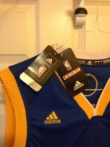 Stephen Curry Blue Adidas Swingman Jersey image 5