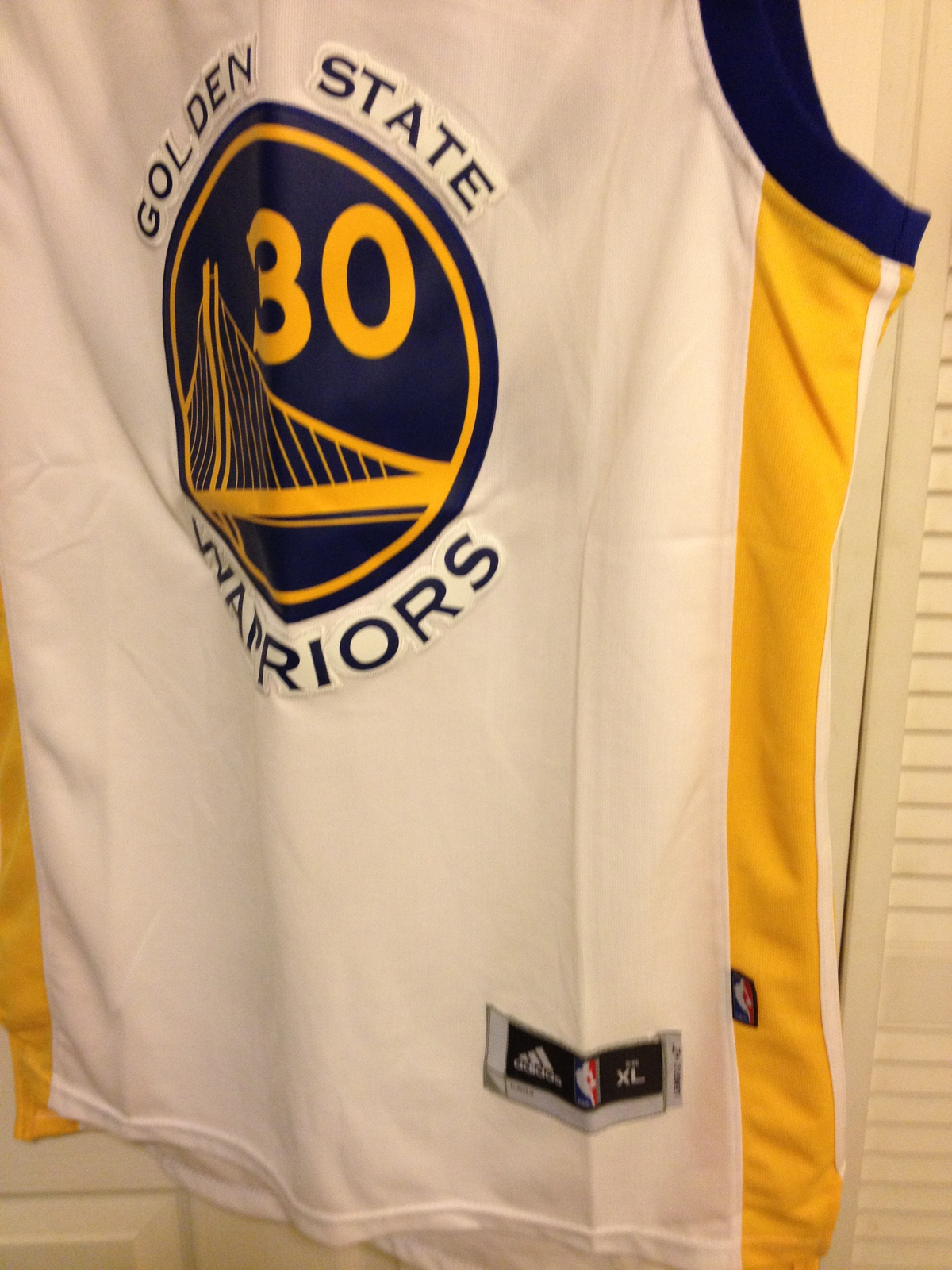 Stephen Curry Adidas Swingman Jersey image 3