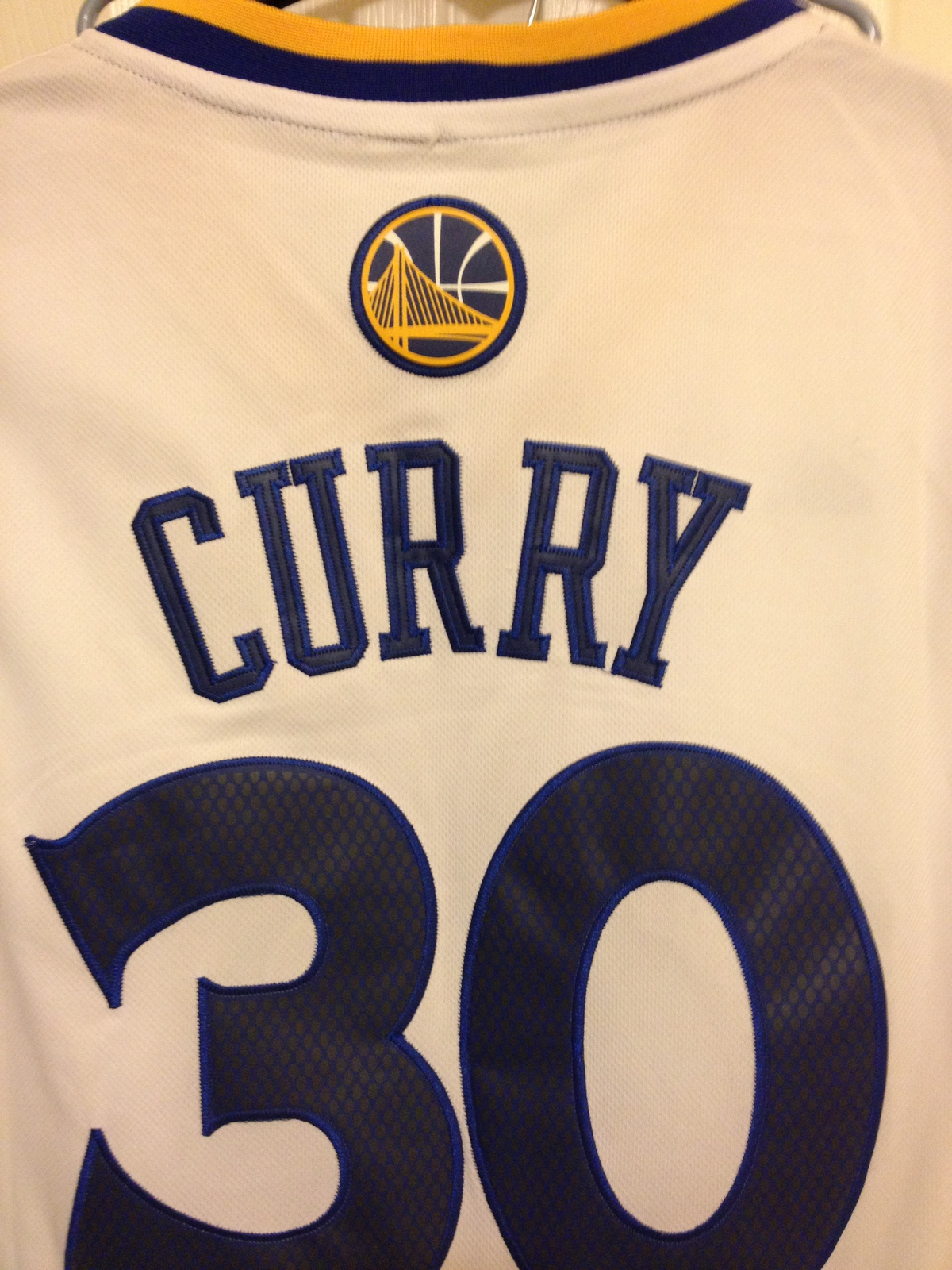 Stephen Curry Adidas Swingman Jersey image 6