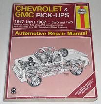 Haynes Chevrolet & GMC Pick-ups 1967 - 1987 Repair Manual 24064  - $15.00
