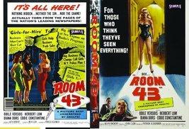 Room 43 [DVD] (1958) Diana Dors; Herbert Lom; Eddie Constantine; Alvin R... - $19.47