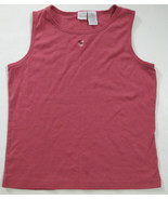 Girls Tops Sleeveless and Short Sleeve Cotton Blend Size 16 Set of 2 - $4.99