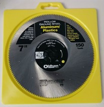 "Oldham 700AP 7"" x 150 Tooth Steel Saw Blade For Aluminum Plastics - $6.44"