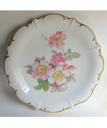 Schuman Arzberg Germany Plate Wild Rose Gilded ... - $74.24