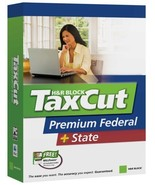 H&R Block Taxcut 2006 Premium Federal + State Win/Mac [CD-ROM] Windows X... - $8.90