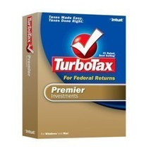 2006 TurboTax Premier Federal + State Investments Win/Mac [OLDER VERSION] [CD... - $39.59