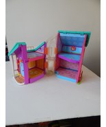 2002 POLLY POCKET Magnetic Dollhouse with Lift Fold-up Take Along House,... - $12.38