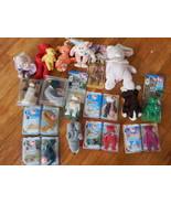 lot of 17 Ty Beanie Babies retired lot rare in original box Mcdonalds Mi... - $79.15