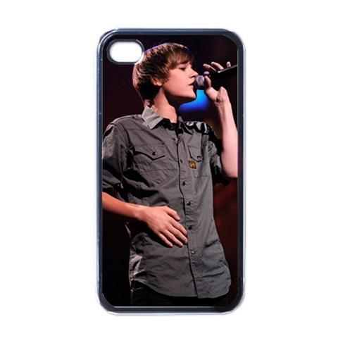 New Hot Justin Bieber Singing iPhone 4 4S Hard Case Cover Back Gift
