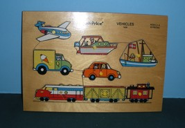 Vintage Fisher Price Pick Up 'N Peek #508 Vehicles (B) (VG-VG+ Rough Room)! - $10.99
