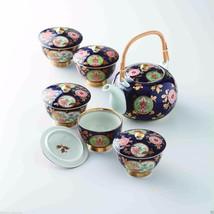 [Premium] Imari Porcelain : Old Imari design - Kyusu Tea pot & 5 tea cup... - $370.26