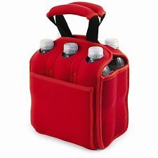 Red drinking tote