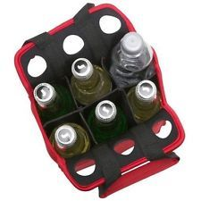 Cooler Red Tote Bag For A Six Pack Of Drinks