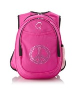 Girls Pink Backpack W Insulated Lunch Cooler Rh... - $75.72