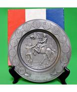 1976 International Pewter Limited Edition Bicentennial Plate, Box & Cert... - $7.95