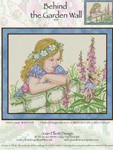 Behind The Garden Wall JE137 cross stitch chart Joan Elliott Designs - $14.00