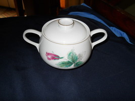 ROSENTHAL VICTORIA ROSE SUGAR BOWL - $13.81