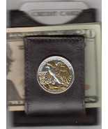 Money clips, Gorgeous 2-Toned Gold & Silver Old U.S. Walking Liberty hal... - $149.95