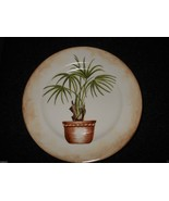 "American Atelier China Tropical Palm 8 1/4"" Salad Plate Motif B - $5.89"